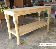 Three Mango Seeds: Laundry Room Folding Table Part 34