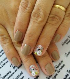 Stiletto Nails, Uñas Fashion, Spring Nails, Nail Art, Beauty, Nail Art Designs, Short Nails, Yellow Nails, Nail Decorations