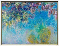 1919-20 Claude Monet Wisteria(Gemeentemuseum l'Aia)