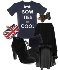"""""""How I Style: Doctor Who"""" by classicalsparrow on Polyvore"""