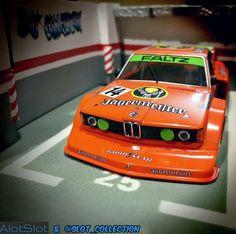 "BMW 320 Jagermeister Grupo 5 del equipo DRM en ""Diorama Parking"" Pilotado por H. Slot Cars, Scale Models, Photo Galleries, Garage, Track, Miniatures, Bmw, Friends, Gallery"