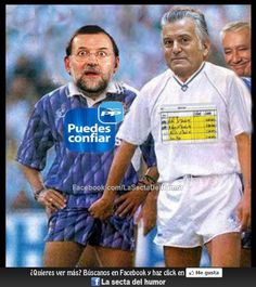 Descripción gráfica de como Bárcenas tiene cogido a Rajoy :P    Síguenos en: http://www.facebook.com/LaSectaDelHumor