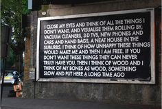 The Don Draper with soul: Robert Montgomery interciew Robert Montgomery, Moleskine, Urban Poetry, Don Draper, Soul Art, Close My Eyes, Night City, Type Setting, Tecno