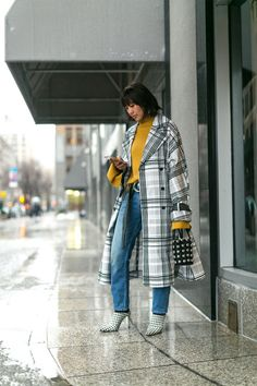 All of the style on the wintry New York City streets: