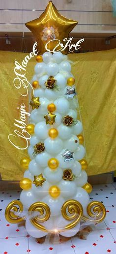 balloon Christmas tree!!