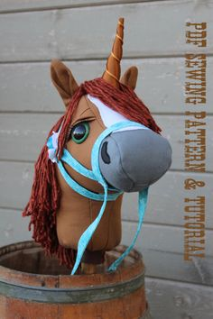 Unicorn+Horn+Sewing+Pattern+and+Tutorial+Supplement+ONLY+to
