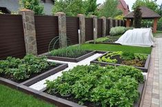 65 Trendy backyard layout with shed vegetable garden Backyard Layout, Backyard Garden Design, Backyard Patio, Backyard Landscaping, Landscaping Ideas, Backyard Ideas, Farm Gardens, Outdoor Gardens, Garden Cottage