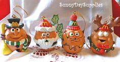 A Merry McNugget Christmas  McNugget Buddies by SunnyDaySupplies