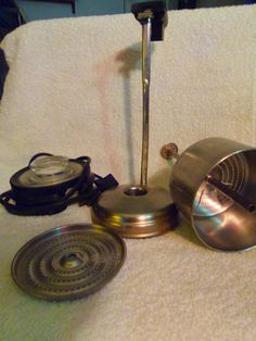 Vintage Corning Ware 10 Cup Coffee Pot PARTS Electric Perculator & Stove Top