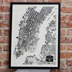Buildings Of Manhattan Print now featured on Fab.