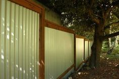 corrugated fiberglass fence | City of Grand Prairie : Fence Information