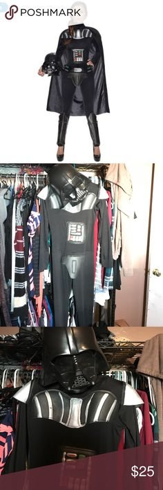 Women's sexy Darth Vader Halloween costume Star Wars Halloween costume, mask included missing belt. Other