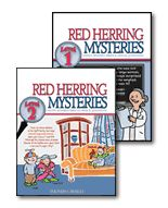 to add to our Logic Course for next year: Red Herring Mysteries 1 and 2.... these are SO FUN! my middle schools and high schooler love these, we do a couple each night :)