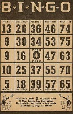 bingo cards to print + MORE freebies Project Life, Papel Vintage, Vintage Paper, Vintage Labels, Vintage Ephemera, Journal Cards, Junk Journal, Paper Art, Paper Crafts