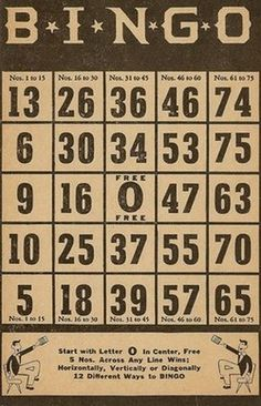 Free Bingo Printables from Sweetly Scrapped