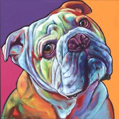 Ron Burns I love this bulldog portrait. He or she has such character. Beautiful…