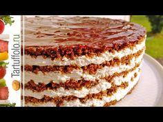 Úžasná torta – bez varenia, bez pečenia: Pečené korpusy už nerobím, každý chce len túto krémovú bombu! Sweet Pastries, Russian Recipes, Cook At Home, Healthy Fruits, Best Diets, No Bake Desserts, Going Vegan, Pie Recipes, No Bake Cake