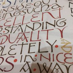 **FULL** I have a couple of spaces left in my David Jones workshop: What: The painted lettering of David Jones. When : Saturday 21 January 2017 Time: 11am - 5pm Where : 4th Uckfield Scout Hall, Rocks Park Road, Uckfield, TN22 2AS (free parking on site) Cost : £35 includes refreshments including cake made with eggs from my home reared chickens! Bring : A packed lunch. A list of materials will be sent on booking. Your place is only secure on receipt of full payment. Please get in touch for furt... David Jones, How To Make Cake, Decorative Lettering, January, Workshop, Calligraphy, Couple, Spaces, Roman
