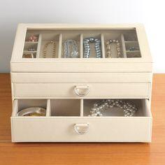 Portofino Jewelry Box from containerstore.com