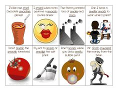 Articulation: Sm Blends Sentence Flash Cards  - Pinned by @PediaStaff – Please Visit ht.ly/63sNtfor all our pediatric therapy pins