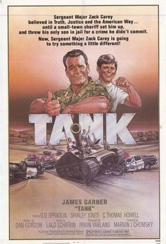 Tank for some reason, this James Garner movie sticks with you for a long time. My favorite James Garner movie. 80s Movies, Action Movies, Great Movies, Excellent Movies, Disney Movies, See Movie, Film Movie, James Garner Movies, Tank Movie