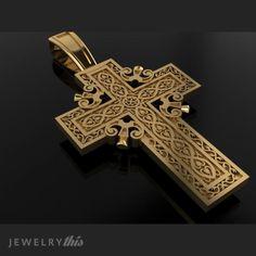3D Jewelry Design: cross крест General Pendant, Cross style [2494-91347] » Jewelrythis
