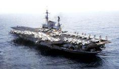 aircraft carrier uss midway | uss midway 1982 aircraft carrier midway class newport news ...