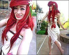 Ariel in rags