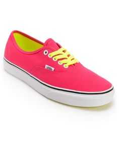 Vans Girls Authentic Virtual Pink Pop Lace   Show off your style.