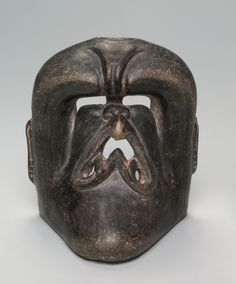 Vessel with Deity Mask