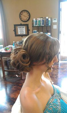 Prom Updo for LONG hair