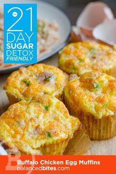 These egg muffins are amazing!  Make a dozen, and throw them in to the freezer, heat up in the microwave in the morning for a quick meal!  Delish!  #paleo #21daysugardetox #weddingreadybody #helpmewed
