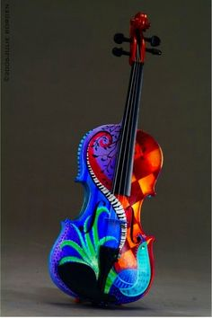 ..colorful fiddle~