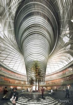 Epic architecture and development projects around the globe - Page 52 - SkyscraperCity Atrium Design, Facade Design, Architecture Details, Modern Architecture, Neoclassical Interior, Steel Structure Buildings, Study Room Design, Future Buildings, Hospital Design