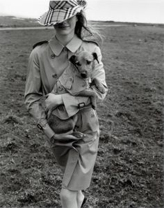 """Page 175, Burberry fall 1998 ad campaign-Stella Tennant by Mario Testino. The """"new upmarket collection named Prorsum."""""""