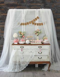 Una boda shabby chic veraniega