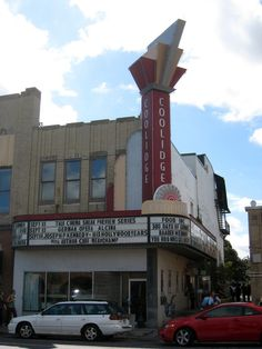 Coolidge Corner Theatre, Brookline, MA. An institution in the Brookline area, this independent theater offers a wide variety of mainstream and off-beat films. Catch a midnight movie showing or one of their special Cult Cut films, and enjoy the rowdy crowd!