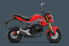 honda grom abs red