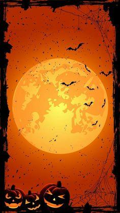 Halloween Wallpaper Horizontal Pumpkin for Hallowe Halloween Wallpaper Iphone, Holiday Wallpaper, Fall Wallpaper, Halloween Backgrounds, Animal Wallpaper, Wallpaper Backgrounds, Retro Halloween, Halloween Pictures, Spooky Halloween
