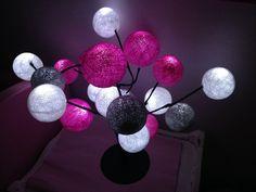 lampe de chevet multicolore