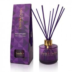 Reed Diffuser 100ML Purple Lasts for up to 20 weeks. #aroma #reeddiffuser #luxury #scent #diffuser #home