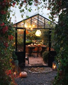 Diy Greenhouse Plans, Backyard Greenhouse, Small Backyard Gardens, Small Greenhouse, Small Backyard Landscaping, Backyard Patio, Garden Cottage, Eindhoven, Outdoor Projects