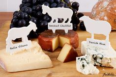 Cheese Animal Labels