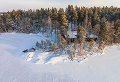 Murikanrannan maisemat hivelevät silmiä talvellakin.