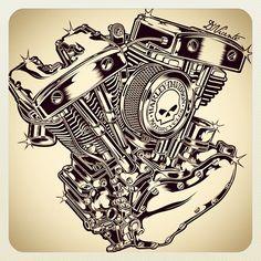 Cool Engine... #Padgram