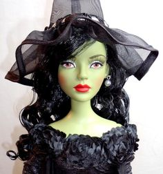 """Tonner EVENING EVIL Wicked Witch of the West 19"""" Fashion Doll Wizard of Oz 