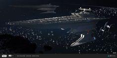 """ILM Star Wars """"The Ride"""", Daniel Rizea on ArtStation at https://www.artstation.com/artwork/OON4k"""
