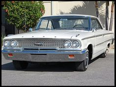 """1963 Ford Galaxie 500 XL This looks like the first car I remember-""""Betsy"""""""
