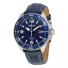 Mens Watches Leather, Seiko, Blue, Accessories, Art, Clocks, Art Background, Kunst, Performing Arts