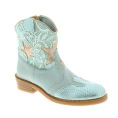 Zecchino D oro Korte laarzen blauw - kleertjes.com